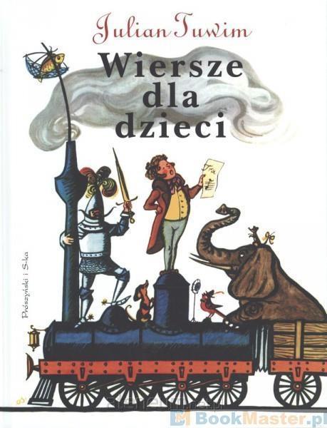 Hurtownia Książek Ateneum Wiersze Dla Dzieci Julian Tuwim